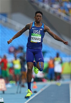Former Tiger Chris Benard competing for team USA