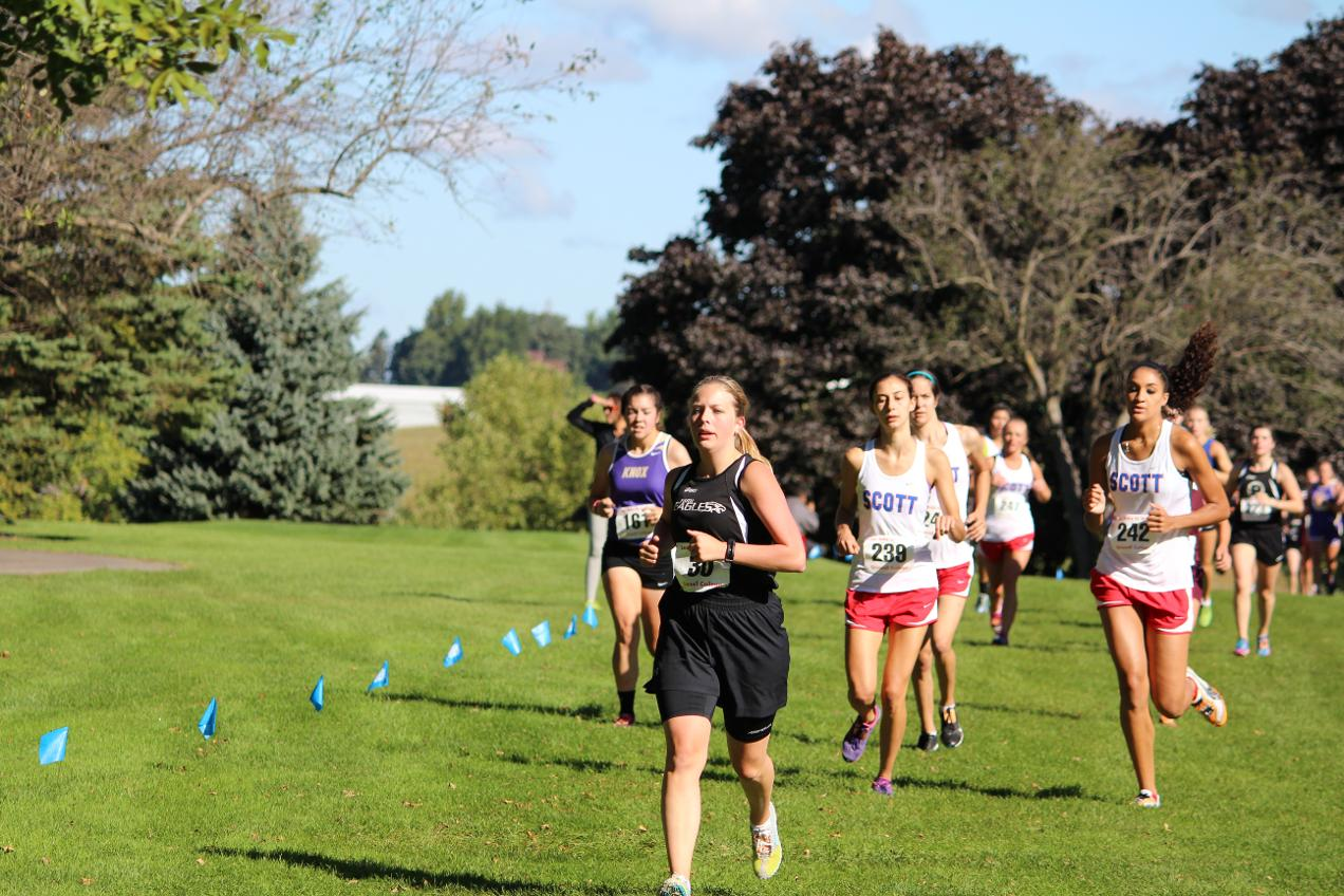 Cross Country Battles Through Soggy Course
