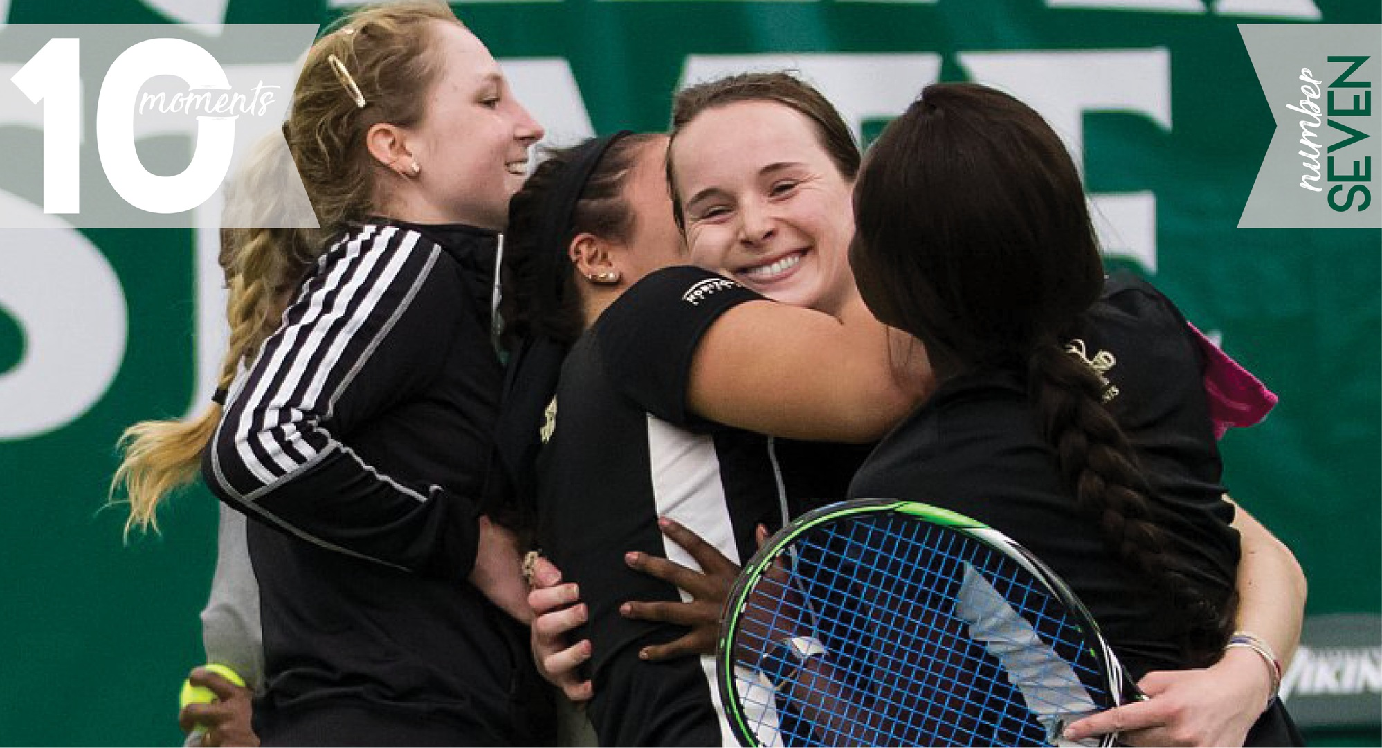 2016-17 CSU Athletics Top 10 Moments | #7 Women's Tennis Claims Horizon League Regular Season Championship