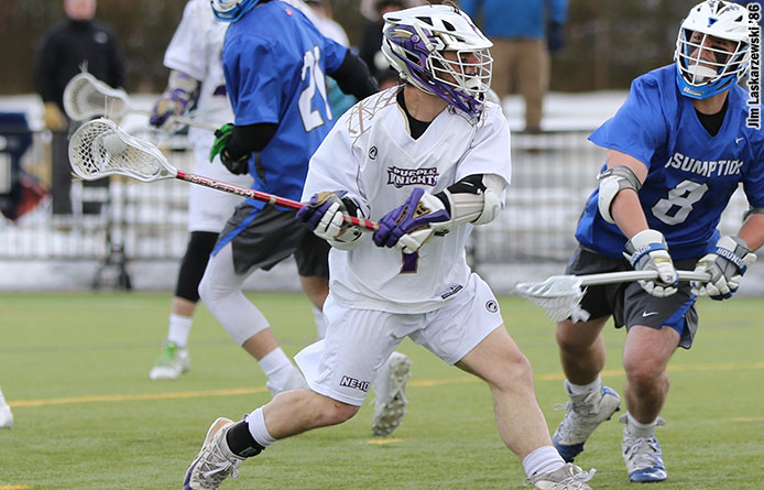 Men's Lacrosse Falls to No. 5 Pace, 13-8, to Cap Challenging Four-Game Week