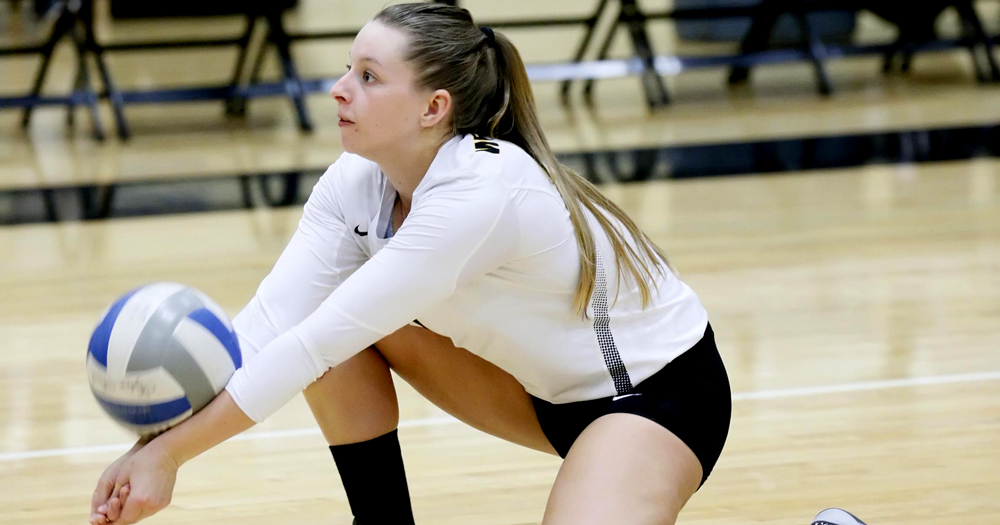 Clark Registers 1000th Career Dig; Leopards Remain Undefeated in CCC Play