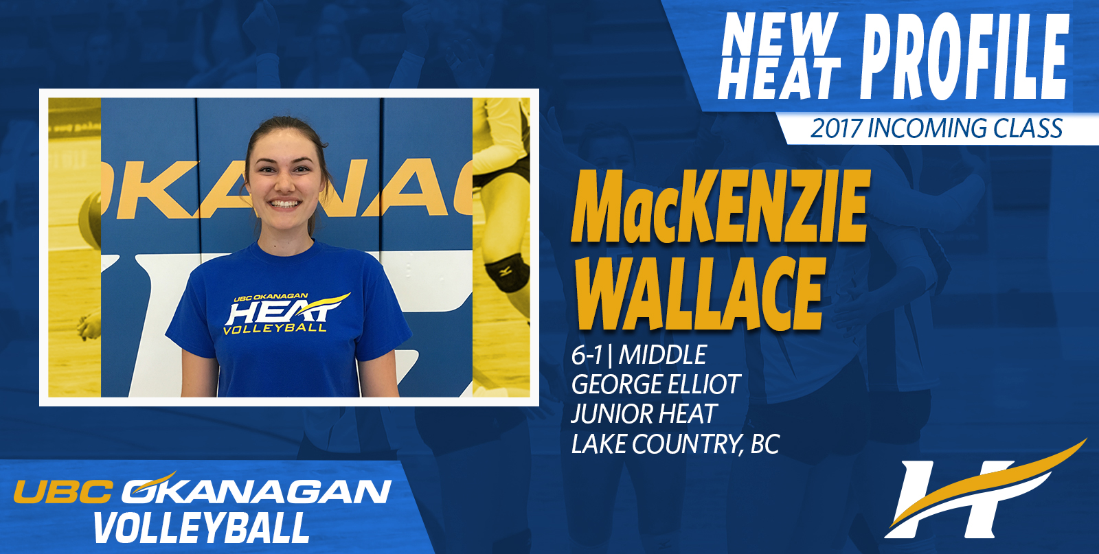MacKenzie Wallace the latest local talent to join the Heat volleyball program