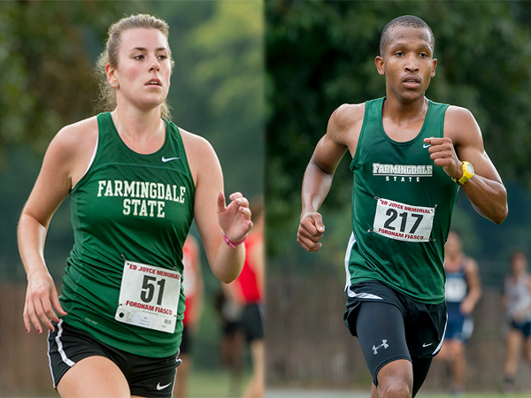 Franz and Borange Lead Rams to 1st and 3rd Place Finishes
