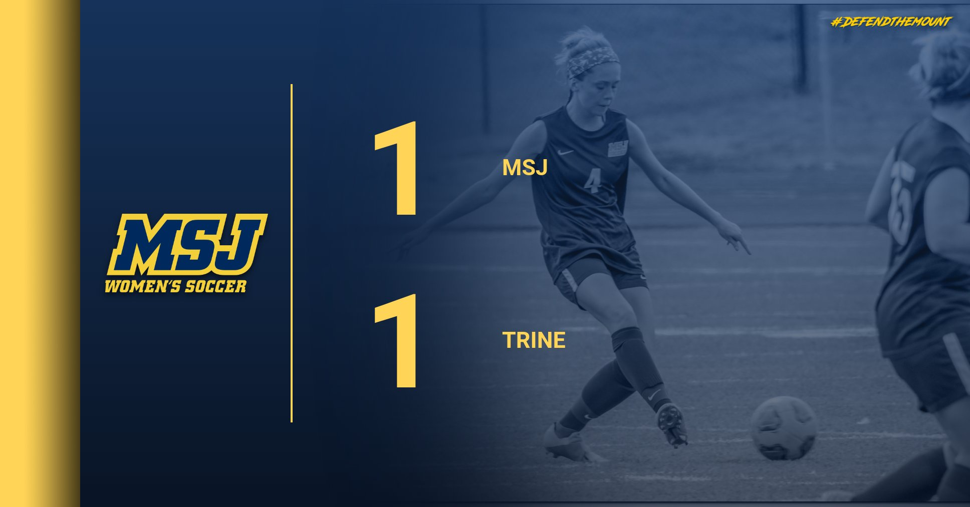 Lions open up the season with a tie against Trine
