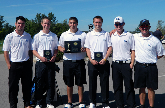 Men's Golf Opens 2012-13 with Dominating Performance