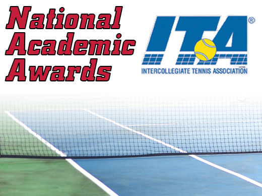 Men's tennis honored with ITA all-academic award