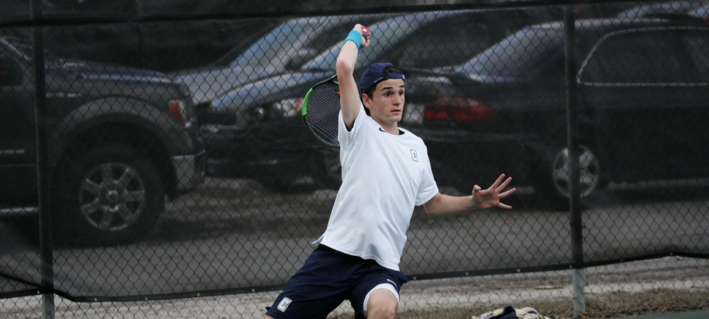 Men's Tennis Earns First Program Victory Over Tusculum