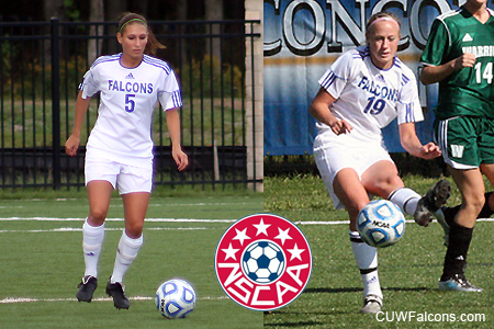 Straehler, Apazeller earn NSCAA all-region honors