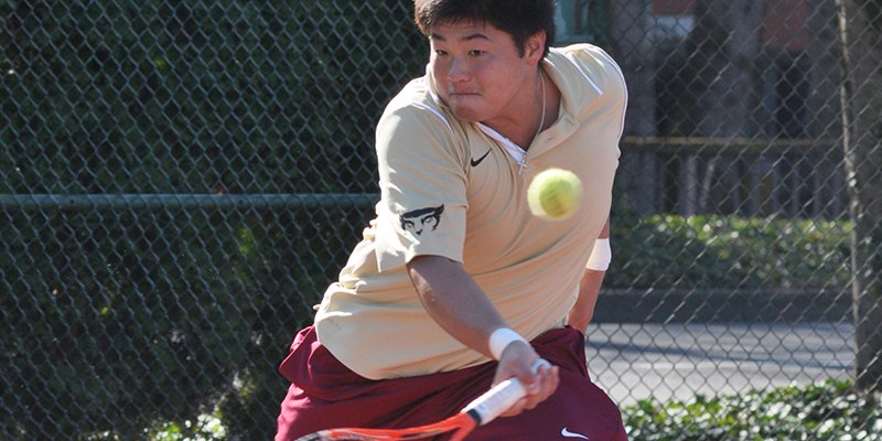 Wong Aces Tennis and Academics at Willamette
