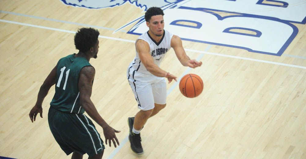 Men's Basketball Cruises To 3-1 in Skyline Play With