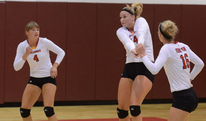 Nationally 23rd-Ranked Bulldogs Split Two Matches At Central Missouri Challenge On Friday