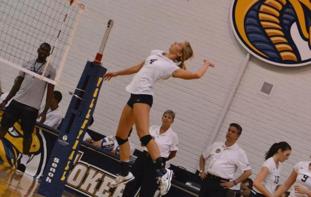 Cobras and Patriots to Square Off in Women's Volleyball