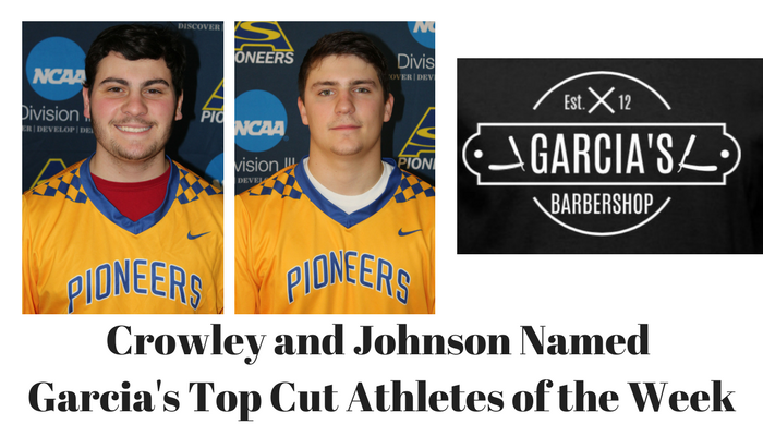 Garcia's Top Cut Athletes of the Week - March 26th