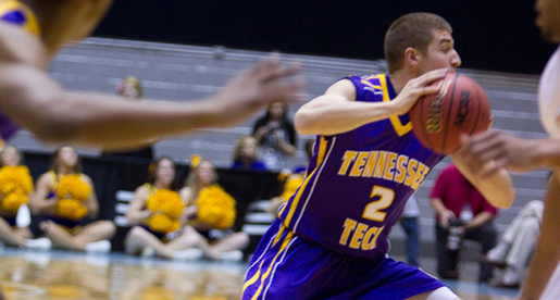 Sacked by Zac! Golden Eagles skin Racers in OVC Tourney to reach title tilt