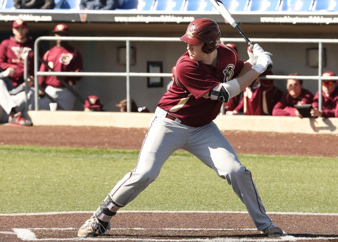 Baseball Splits Day With Gannon