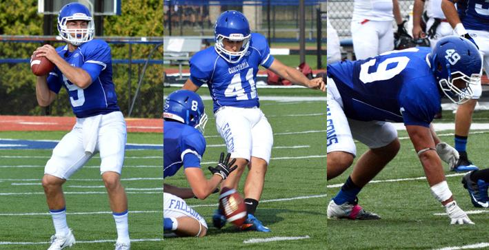 Football sweeps NACC weekly awards
