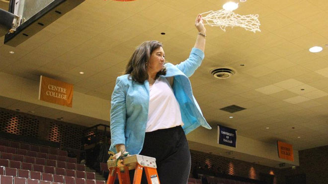 Centre's Austin-Robinson named WBCA Regional Coach-of-the-Year