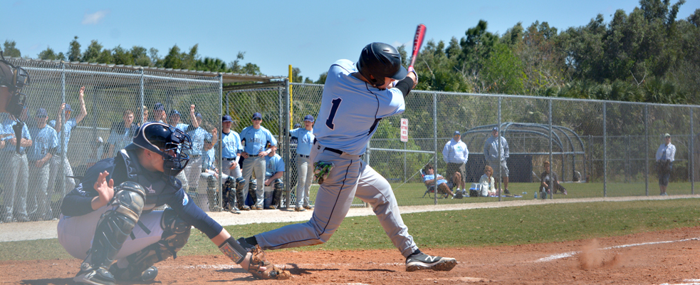 Lasers Fall to St. Joe's Maine in GNAC Baseball Opener