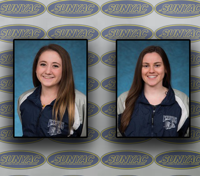 SUNYAC Women's Swimming and Diving Athletes of the Week announced