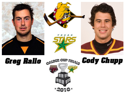 Two Former FSU Skaters Help Texas Stars To 2010 Calder Cup Finals