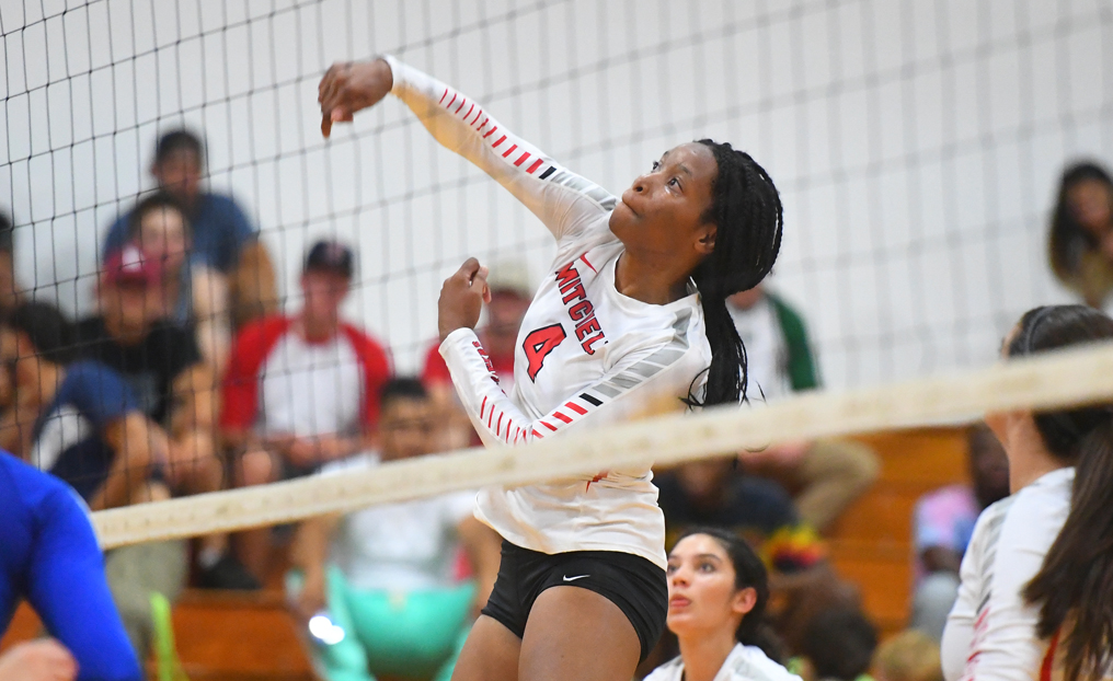 Volleyball Falls to ECSU, Nichols in Season Opener
