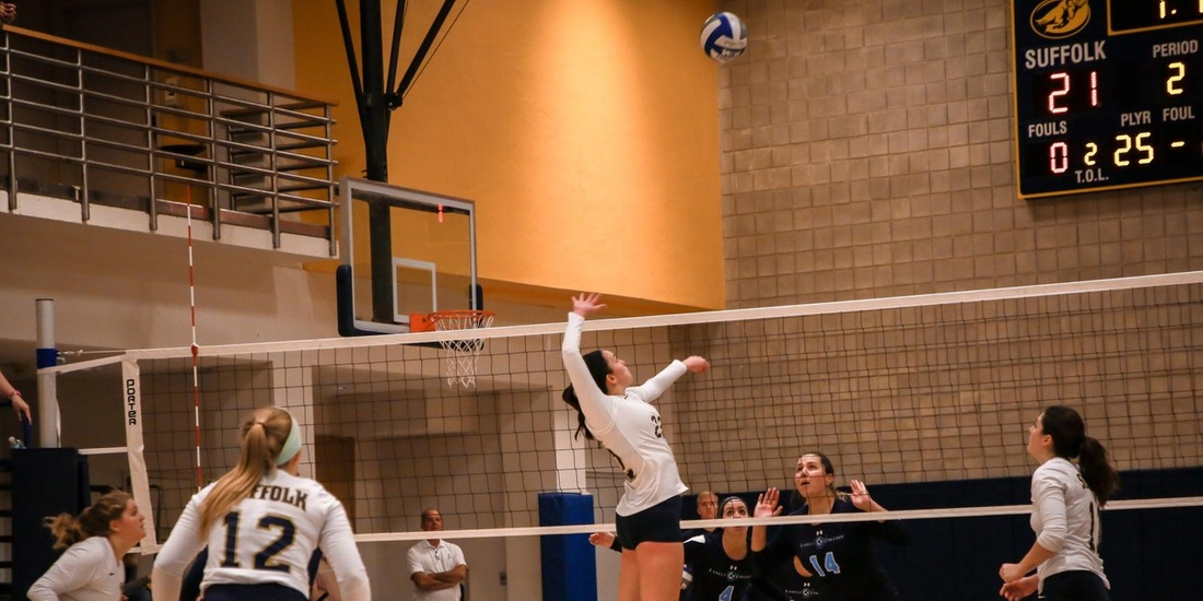 Volleyball Closes Homestand with 3-1 Win Over Becker