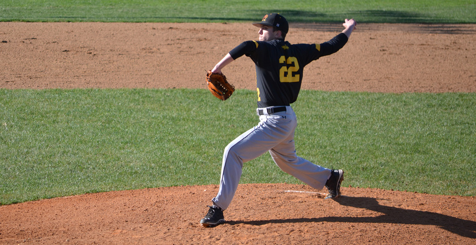 Vlasic Dominates, K's Nine as UMBC Blanks Coppin State, 3-0