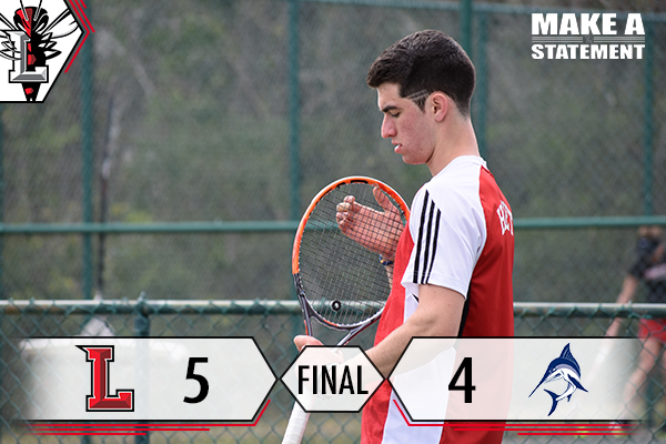 Men's Tennis Edges Virginia Wesleyan In Thriller, 5-4