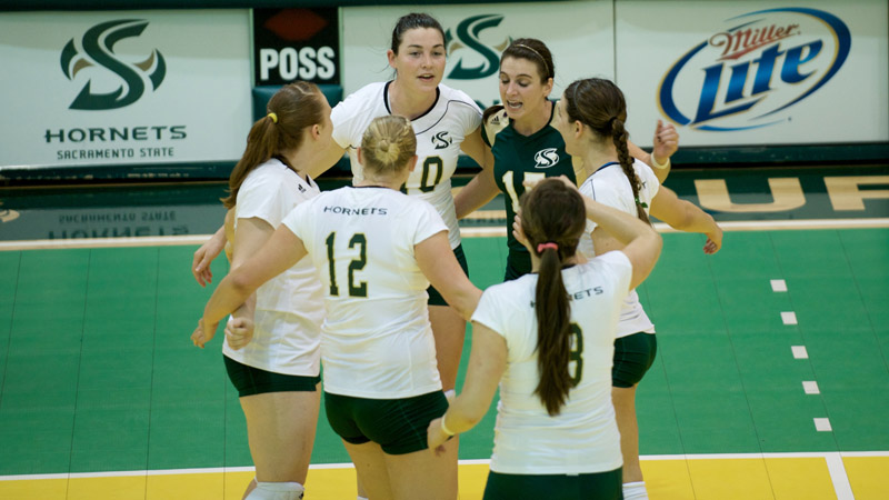 VOLLEYBALL FINISHES REGULAR SEASON WITH WIN OVER MONTANA, WILL WAIT UNTIL MONDAY FOR PLAYOFF FATE