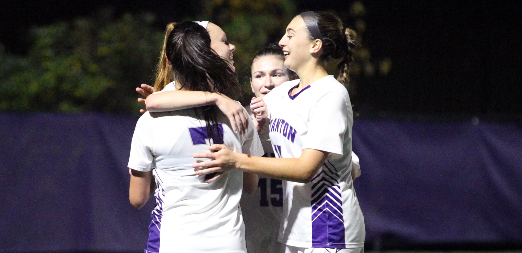 The University of Scranton women's soccer team advanced on penalty kicks in the first round of the NCAA Tournament on Saturday afternoon. © Photo by Timothy R. Dougherty / doubleeaglephotography.com