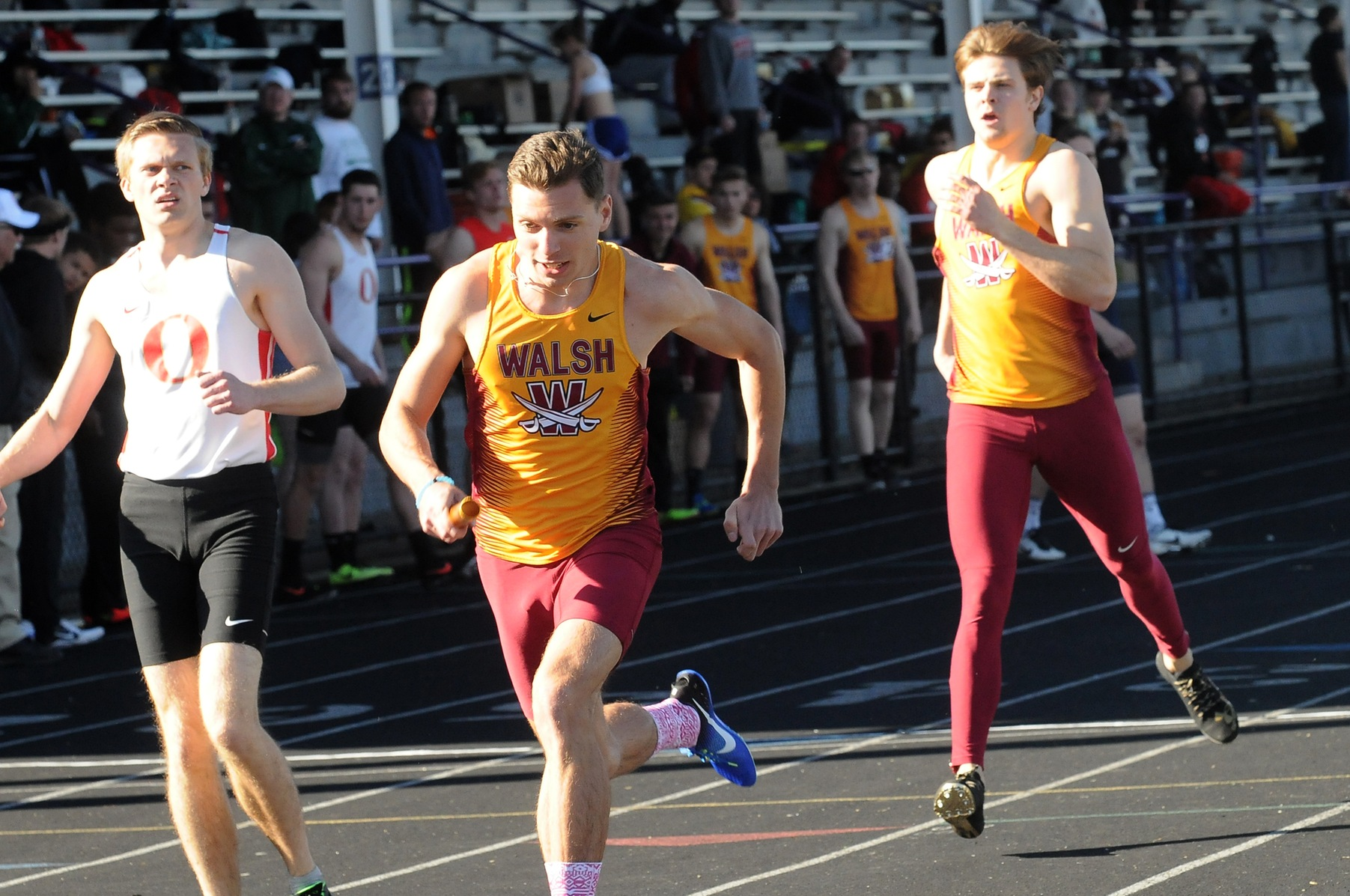 Yoder, Relays Win at Slippery Rock