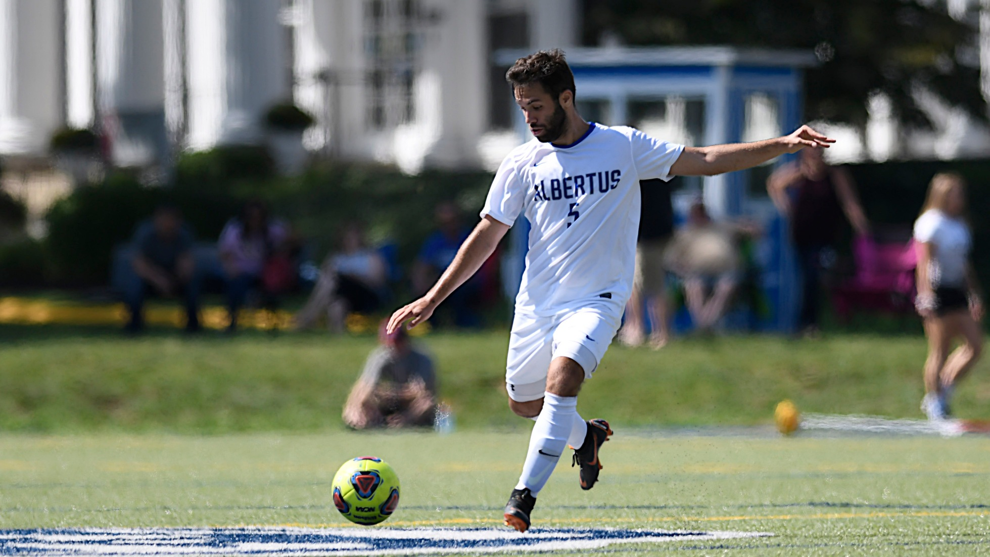 Men's Soccer Draws 2-2 Tie with Regis (Mass.) in Conference Play