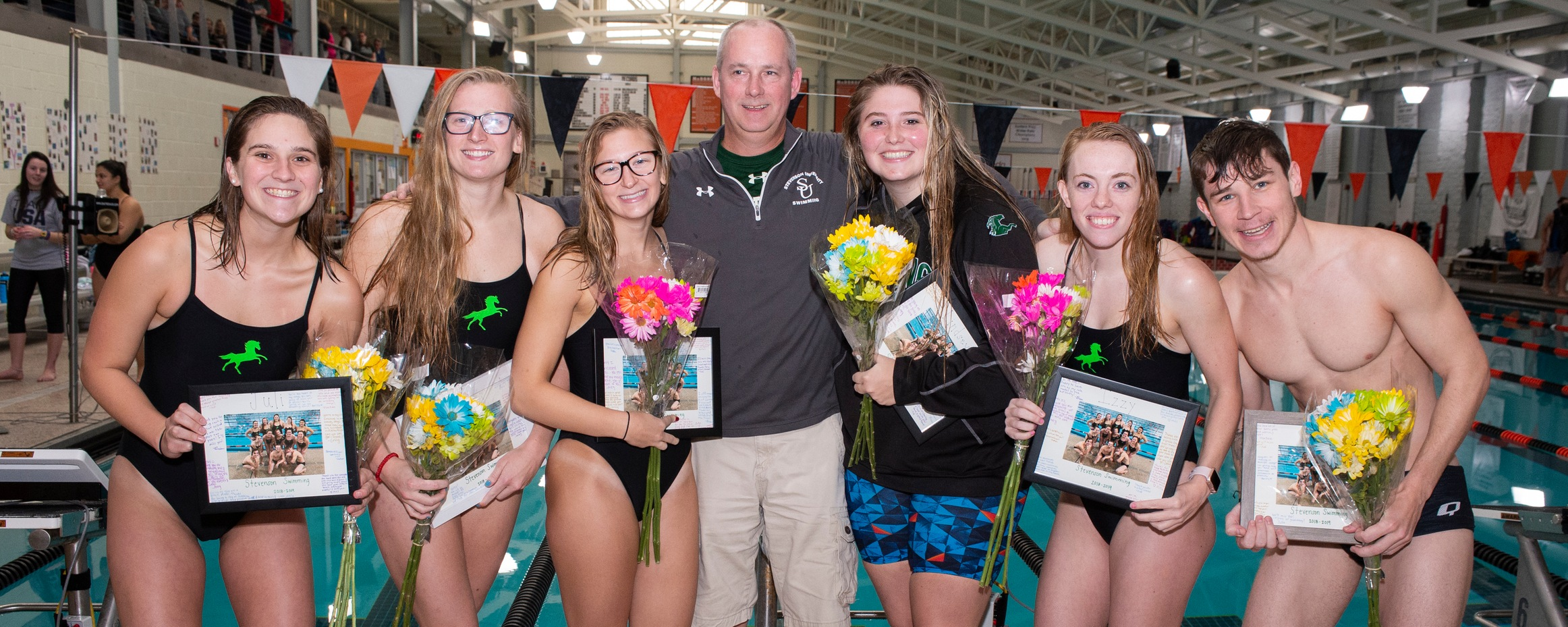 Milam Wins Two Events in Setback to Arcadia on Senior Day