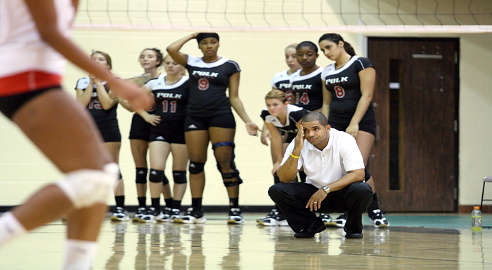 Polk State Volleyball Falls 3-0 to College of Central Florida on Sophomore Night
