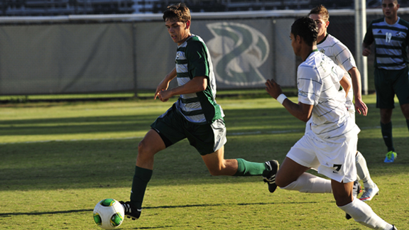 MEN'S SOCCER OUTLASTED BY CAL POLY 2-1