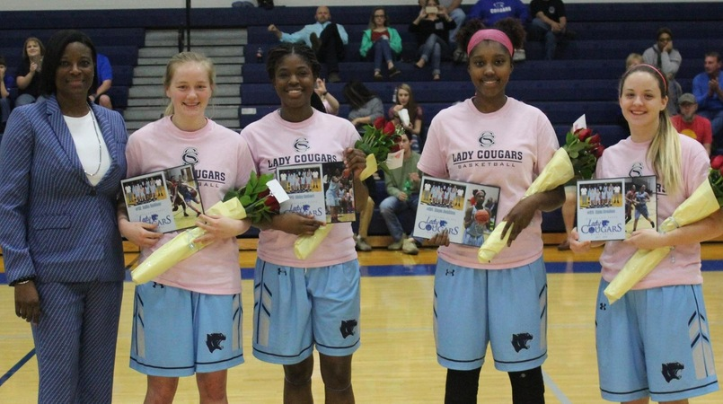 Lady Cougar Basketball Sophomores Moving On To Next Level