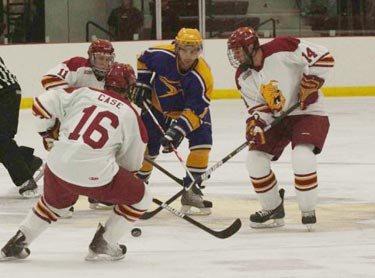 #16 Matt Case and #14 Todd Pococke (Photo by Scott Whitney)