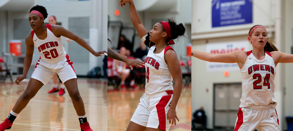 Three Express Players Named to NJCAA Division III All-American Team