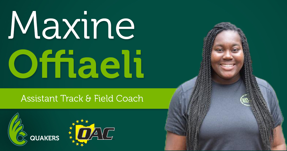 Maxine Offiaeli Joins Track & Field Program as Assistant Coach