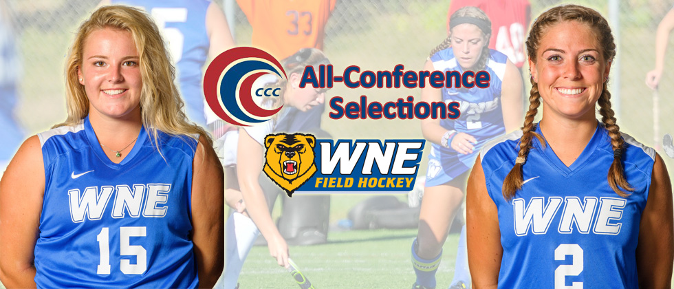 Brittany DeLima, Allison Jackson Earn All-CCC Field Hockey Accolades
