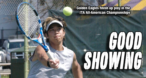 Golden Eagles wrap up play at the ITA All-American Championships