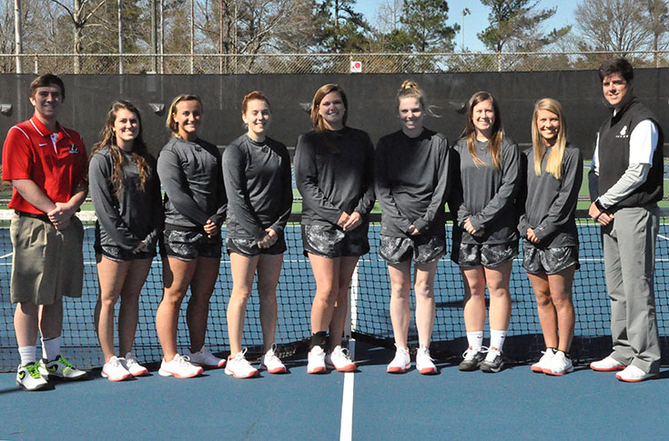 Women's Tennis: Panthers end season with loss to Meredith in USA South Tournament