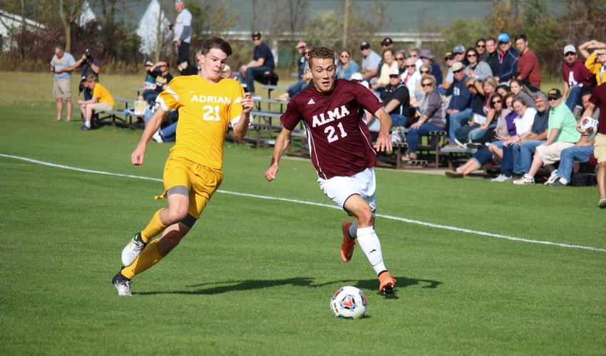 Farmer Scores Twice in Alma's Season Opening Win