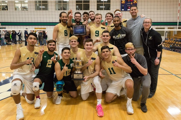 Blazers Sweep Endicott For NECC Crown