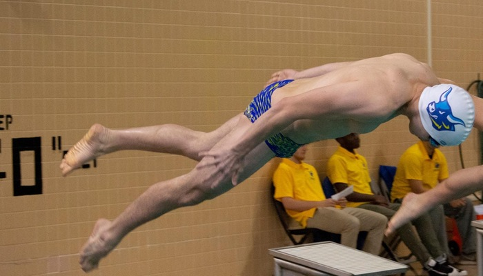 Diving off the blocks