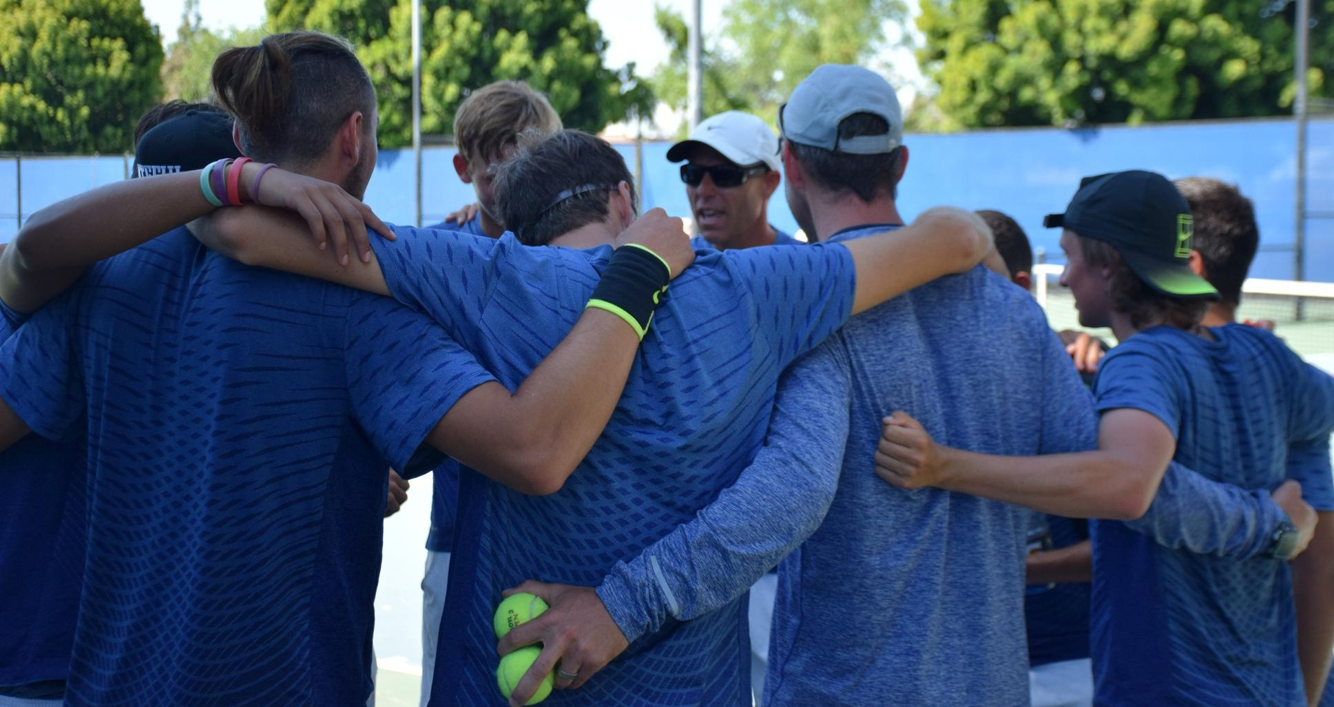Men's tennis team going after its third straight state title