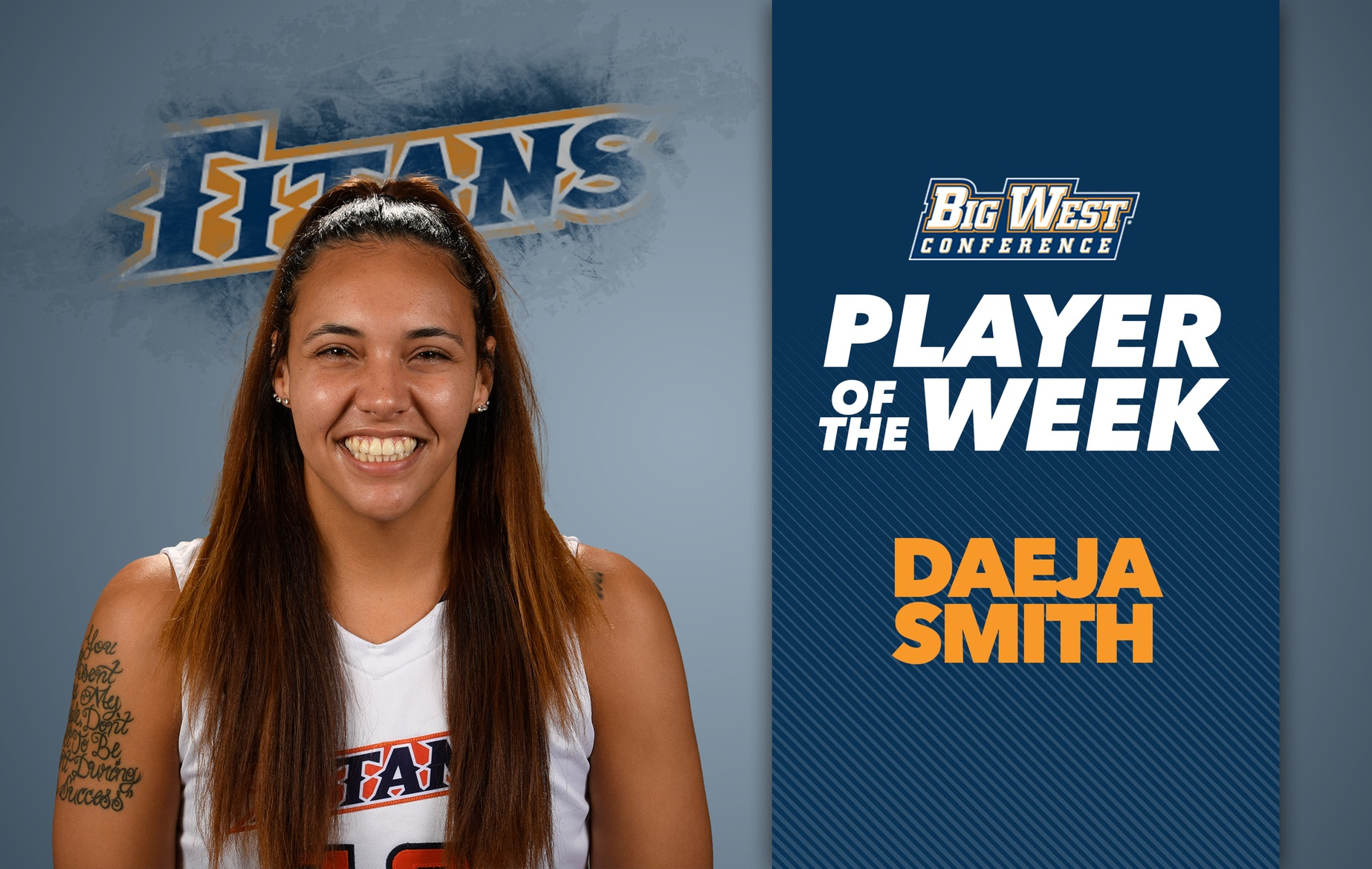 Smith Takes Home Second Career Big West Player of the Week