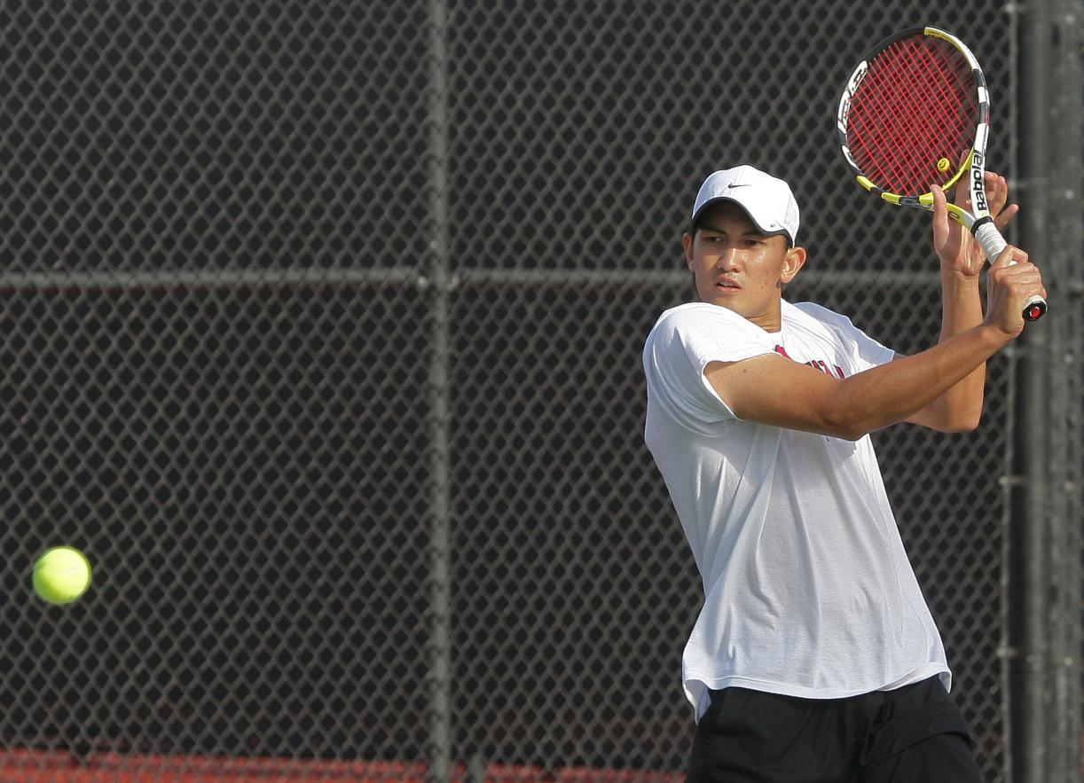 No. 50 Men's Tennis Finishes Last Away Match with a 4-3 Victory Over Pacific