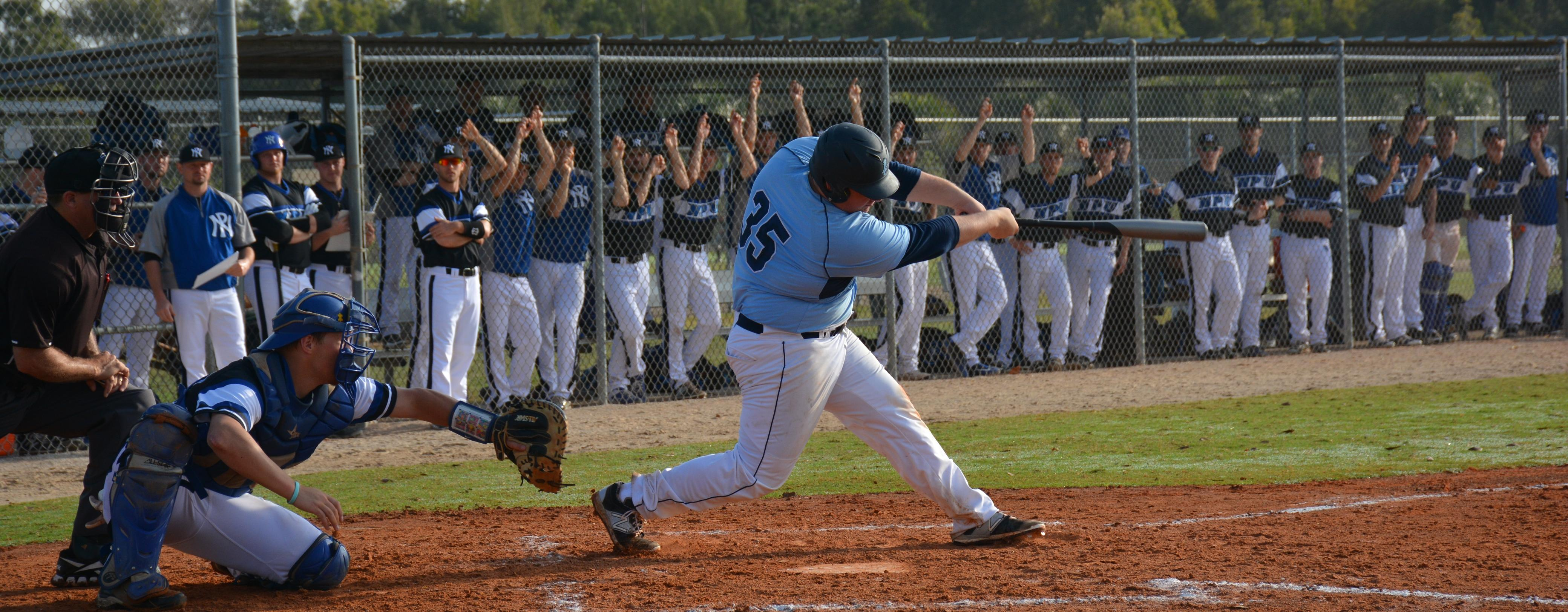 Old Westbury Powers Past Baseball in Florida Debut
