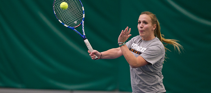 #23 Whitman Too Much for Women's Tennis